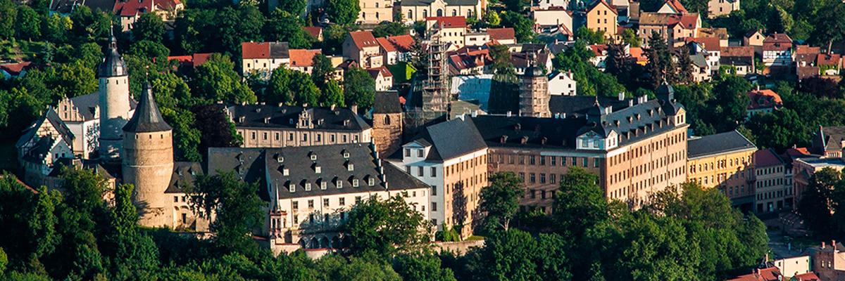 Altenburger Residenzschloss von oben